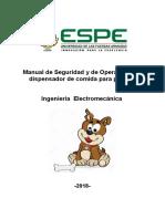 Manual de Seguridad y Operación