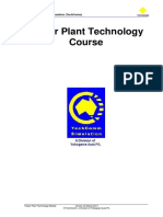 Power plant Technology course