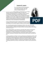Augusto B. Leguía-Biografía