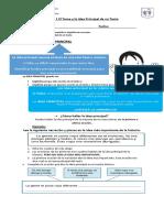 Guía N° 1 El Tema y la Idea Principal de un Texto