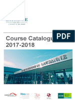 Course Catalogue 2017 2018