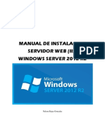 Servidor Web (iis) en Windows Server 2012 r2