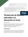 Tendencias de Web 2.0 Aplicadas a La Educación en Línea 3-5