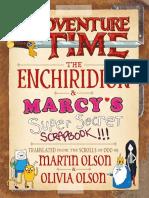 Adventure Time - The Enchiridion & Marcy's Super Secret Scrapbook!!!