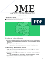 Oxfordmedicaleducation.com Colorectal Cancer