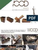 WOOD - Catálogo de Precios