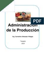 Administración de La Producción.carmelino.almestar.villegas