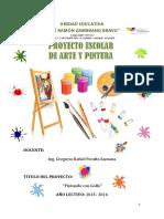 Proyecto Escolar de Arte y Pintura - GREGORIO 2015