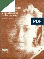 Claves Feministas Para El Poderio y La Autonomia de Las Mujeres-Marcela Lagarde