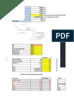 Diseño de Muro de Contención Excel