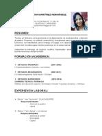 Curriculum Vitae Luisa Ojo