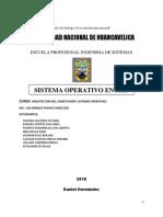 Monografia de Arquitectura y Sistemas Operativos