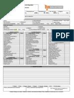 Ficha tecnica de revision Vehicular de taller mecánico