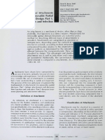Burns 1990; a Review of Attachments for Removable Partial Denture Design Part 1. Classification and Selection