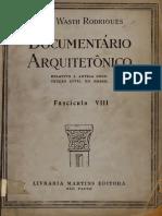 Fascículo Documentário Arquitetônico