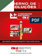 Caderno de Resoluções Congresso nacional 2014
