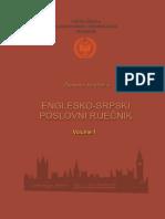Englesko Srpski Poslovni Rije Nik Tom 1