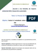 Proceso de Estudio de Impacto Ambiental
