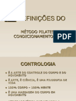 Apostila Pilates - Resumida