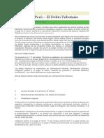 Tributación Perú