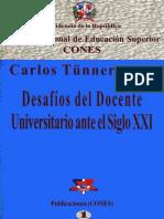 Desafíos Del Docente Universitario Ante El Siglo XXI