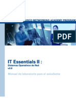 IT Essentials II-Network Operating Systems v3.0 Manual de Lab Oratorio