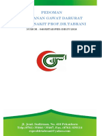 Cover Penetapan Panduan Pelayanan Terintegrasi Dan Koordinasi Aktivitas Asuhan Pasien
