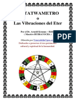 EL TATWAMETRO o Las vibraciones del Eter - Arnold Krumm Heller