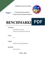 Benchmarking - Listo
