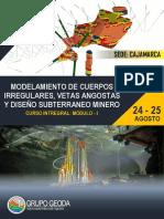 BROCHURE MODELAMIENTO SUBTERRANEO MINERO (Cajajamarca_ Agosto 24 y 25).pdf