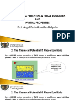 02. Chemical Potential & Phase Equilibria Molar Properties
