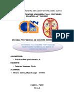 Informe Practicas Pre- Profesionales Bcp- Miguel Alvarez Merma
