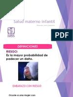 Taller Salud Materno Infantil