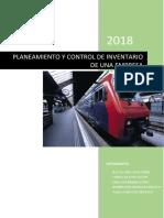 Planeación y Control de Inventarios de Una Empresa
