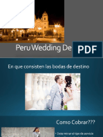 Peru Wedding Destination