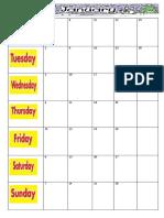 kalender persekolahan