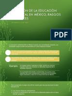 Situación de La Educación Ambiental en México