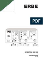 Erbe Erbotom ICC300 - User Manual