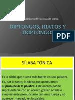diptongos - hiatos - triptongos lenguaje CUarto
