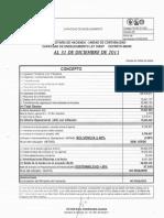 Capacidad de Endeudamiento 2011