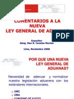 COMENTARIOS A LA NUEVA LEY GENERAL DE ADUANAS.ppt