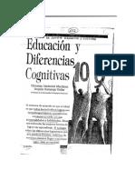 Educacion y Diferencias Cognitivas