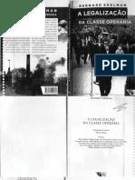 A Legalização Da Classe Operária - Bernard Edelman