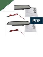 Kaca Spion LCD Monitor Kamera Mundur Parkir