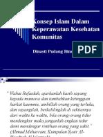 Konsep Islam Dalam Keperawatan Komunitas