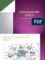 Contaminación Sónica Por Andreina M.