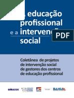A EDUCAÇÃO PROFISSIONAL E A INTERVENÇÃO SOCIAL