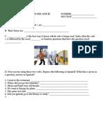 Workbook 7.3 Preterite of Ser and Ir