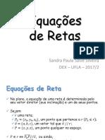 05 Equações Retas Planos Complemento
