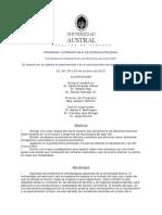 Programa Internacional de Derecho Procesal Univ Austral